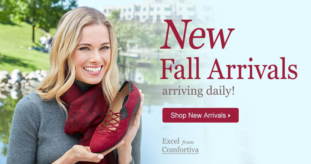 New Fall Arrivals, Like Excel From Comfortiva