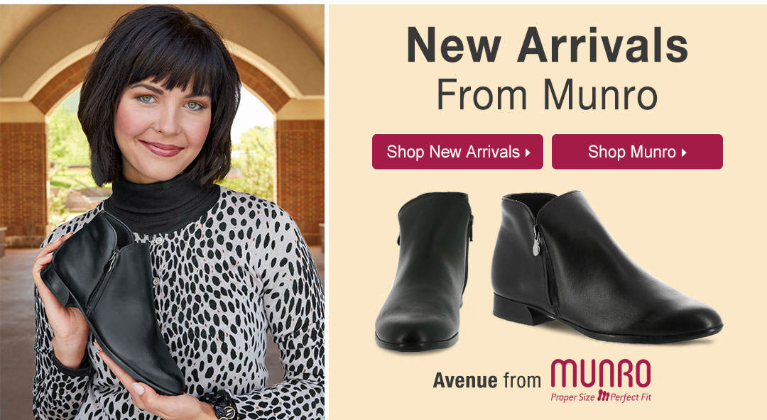 New Arrivals From Munro