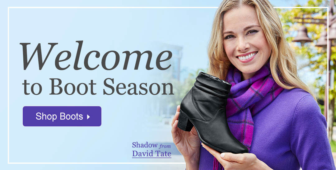 Welcome To Boot Season - Shop Boots