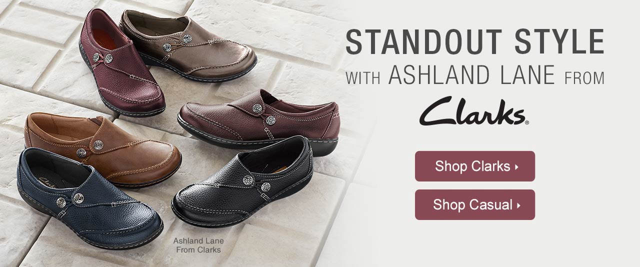 Standout Style With Ashland Lane From Clarks