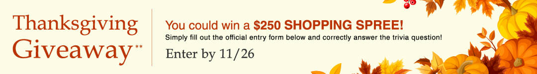 Enter to win a $250 Shopping Spree from Auditions Shoes Thanksgiving Giveaway