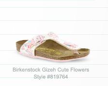 Birkenstock Gizeh Cute Flowers (Girls')