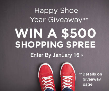 Enter for a Chance to Win a $500 Shopping Spree!