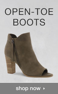 Shop Open-Toe Boots