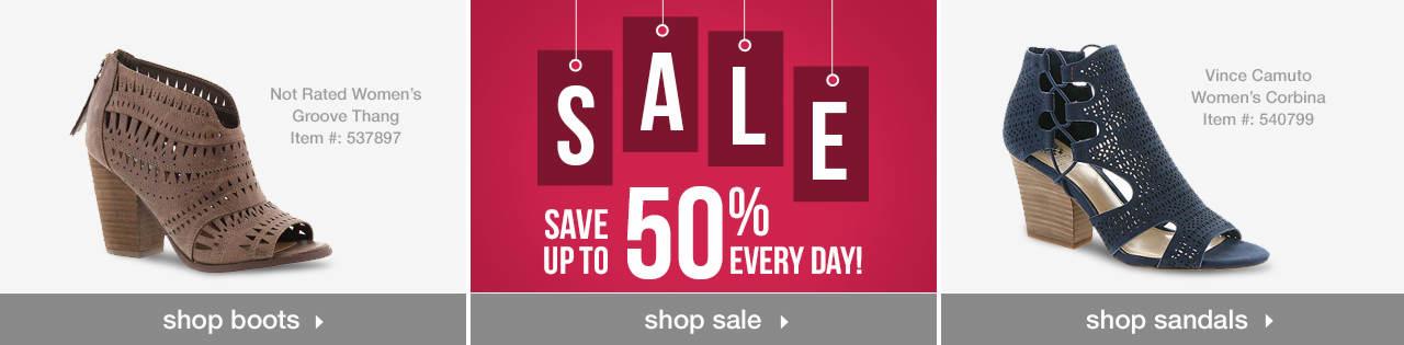Shop Boots, Sale and Sandals