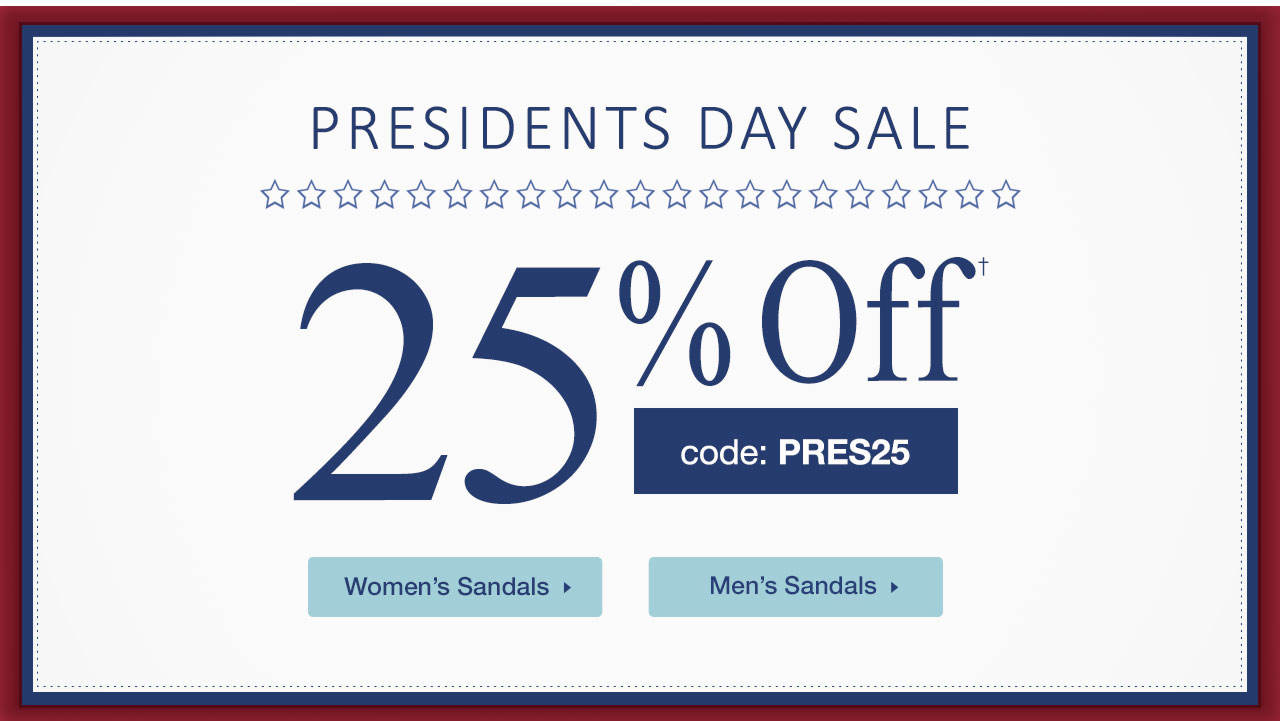 25% Off With Code: PRES25