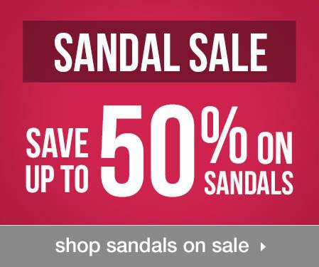 Shop Sandals on Sale