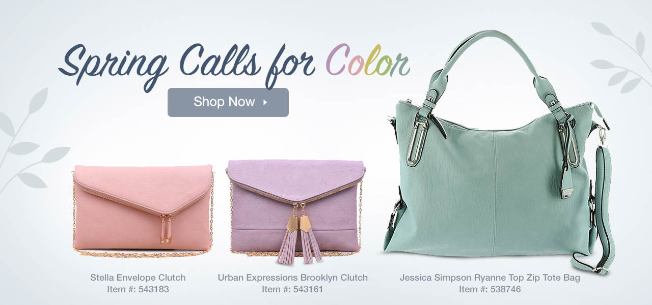 Shop Colorful Spring Bags