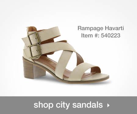 Shop City Sandals