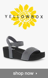 Shop Yellow Box Sandals