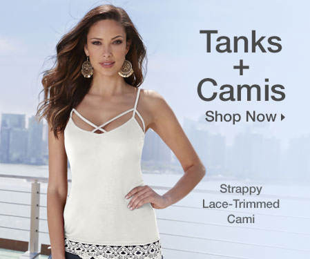 Shop Tanks & Camis