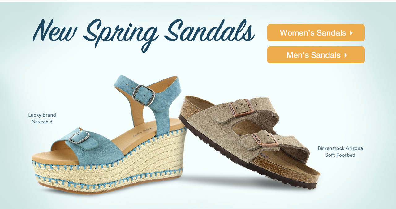 New Spring Sandals