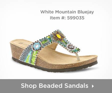 Shop Women's Beaded Sandals