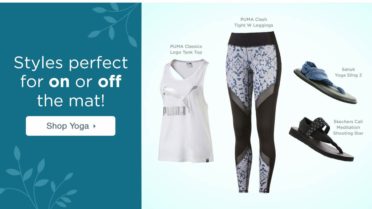 Styles Perfect For On Or Off The Mat!