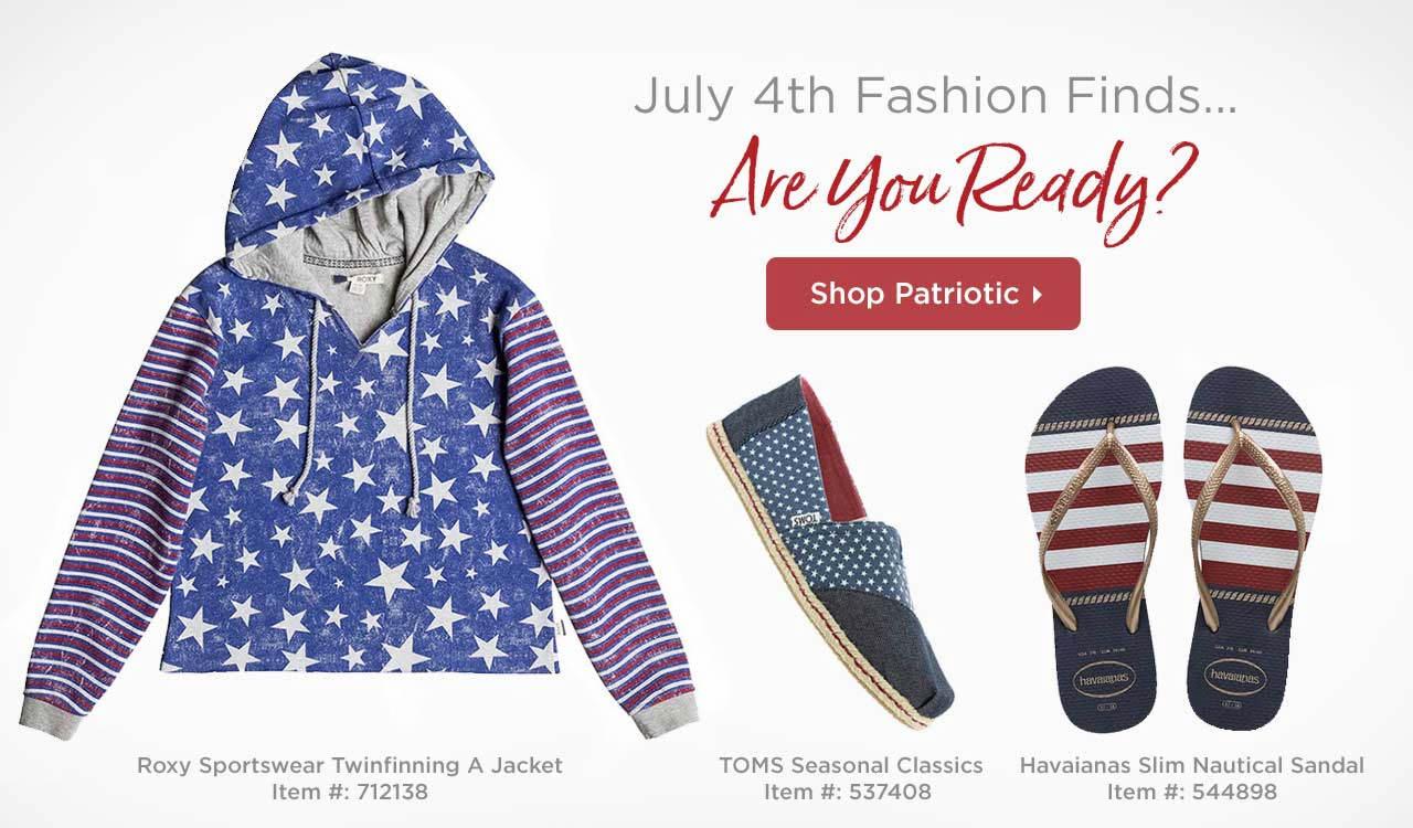 Shop Patriotic Styles