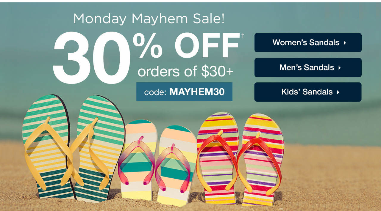 30% Off Order Of $30+ With Code: MAYHEM30