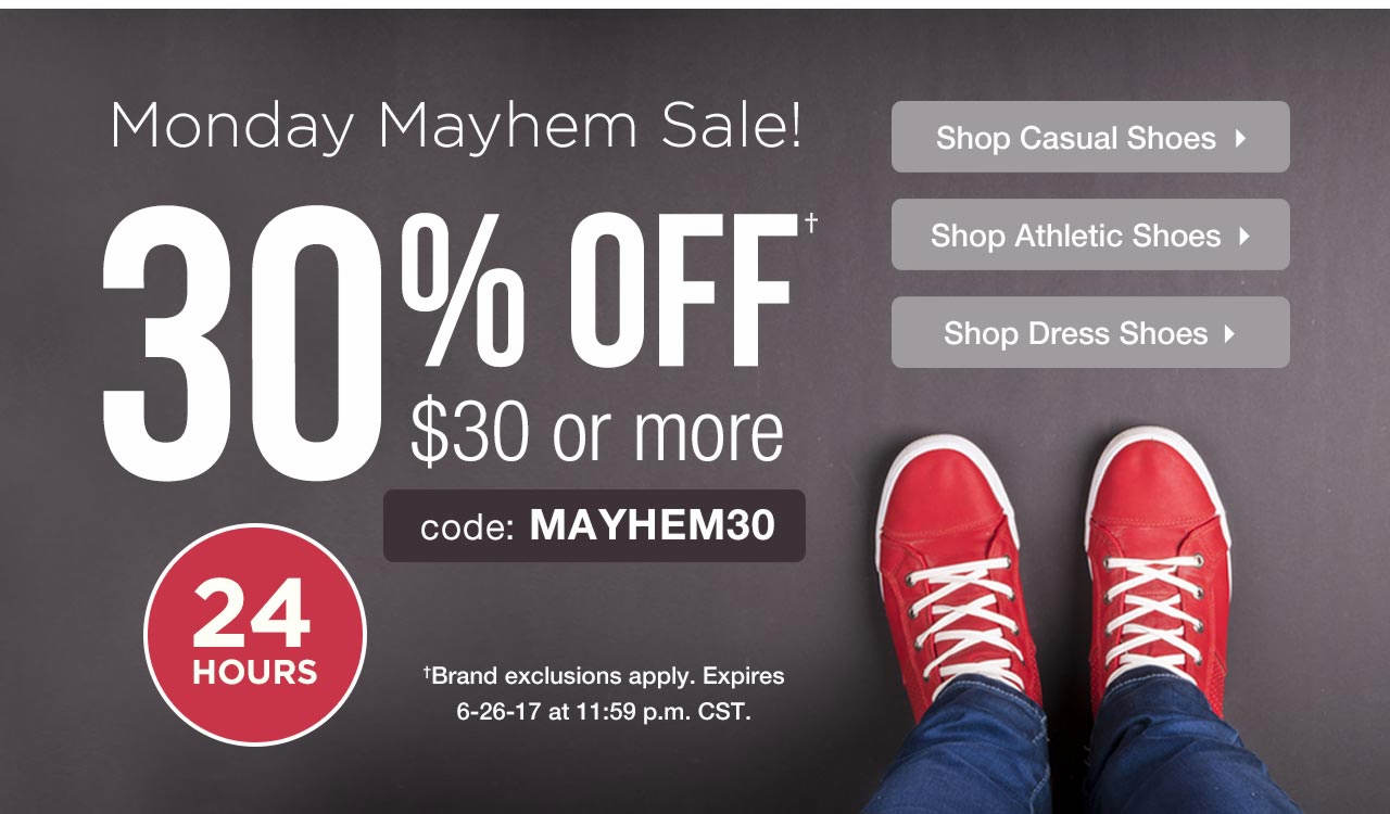 Take 30% Off $30 With Code: MAYHEM30 Until 6-26-17 at 11:59 p.m. CST.