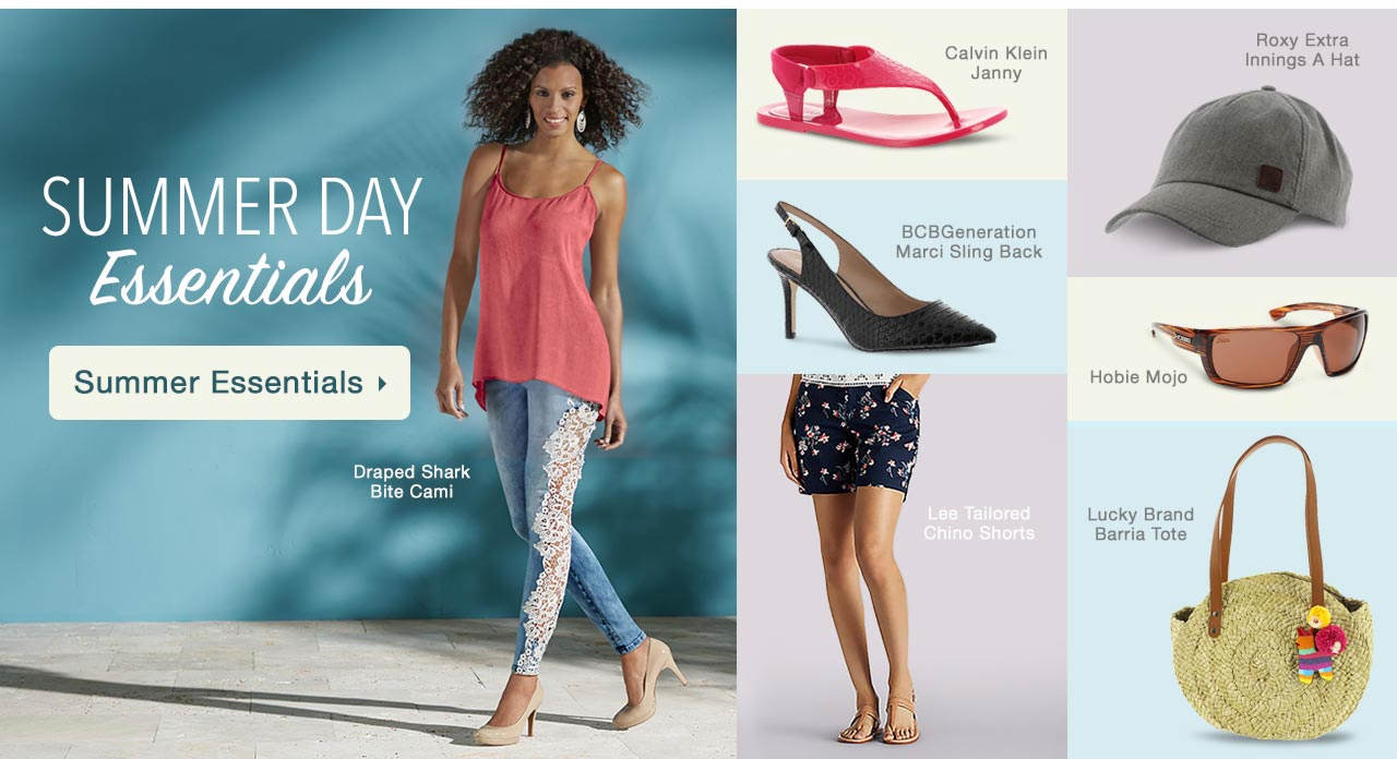 Shop Summer Essentials