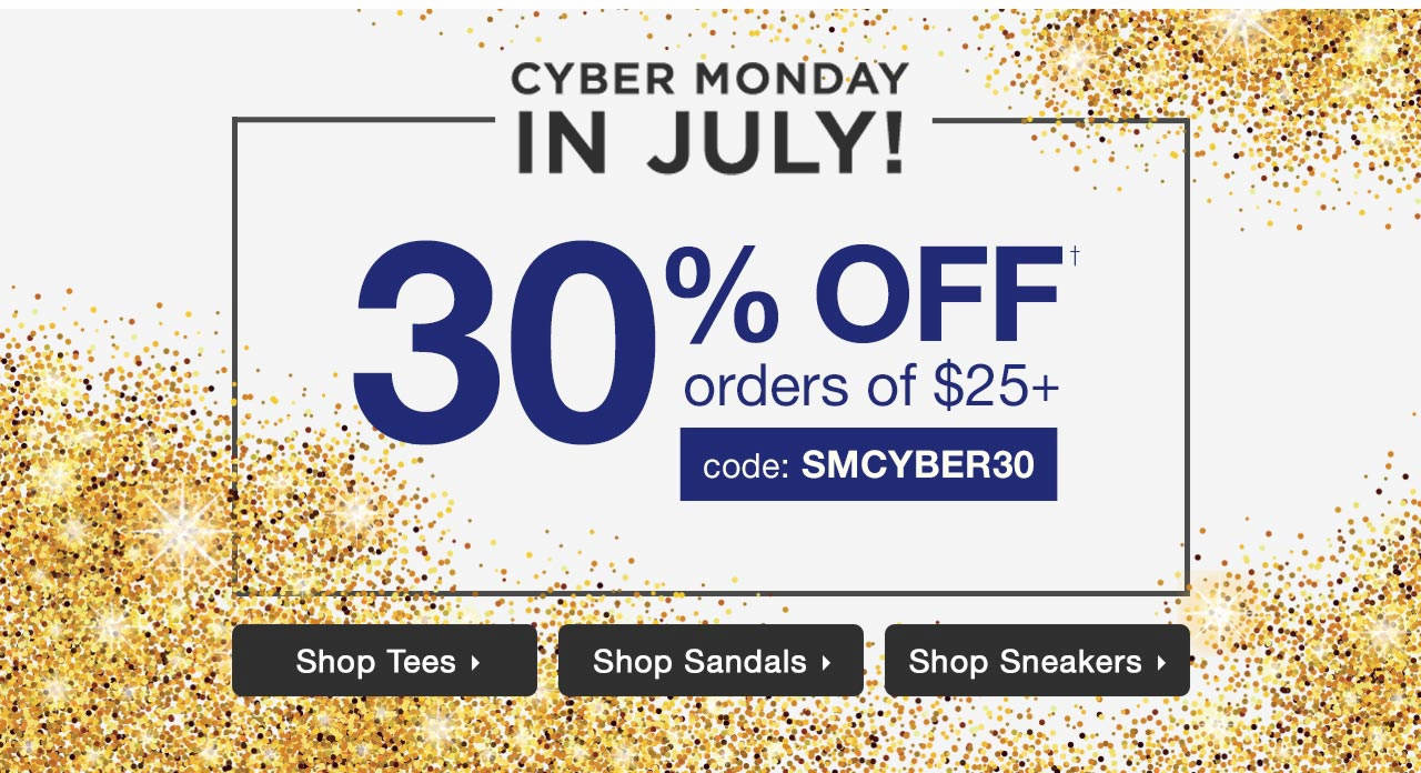 30% Off Order Of $25+ With Code: SMCYBER30