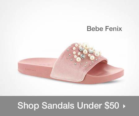 Shop Sandals Under $50