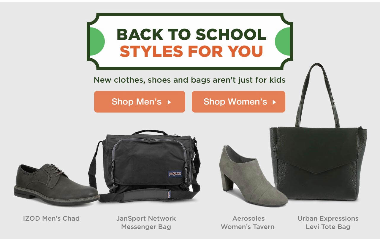 Shop Teachers' Back to School Styles