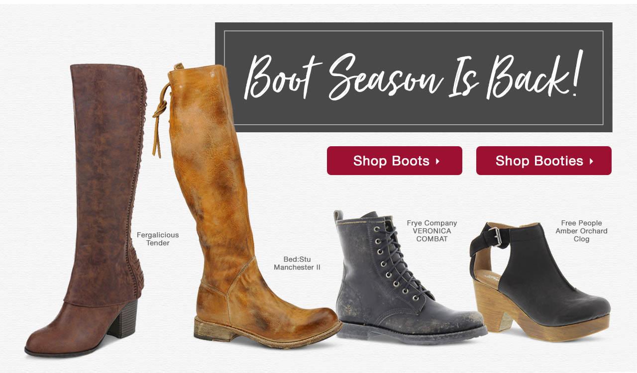 Boot Season Is Back