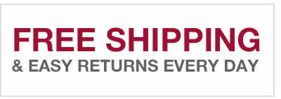 Free Shipping & Easy Returns Every Day!