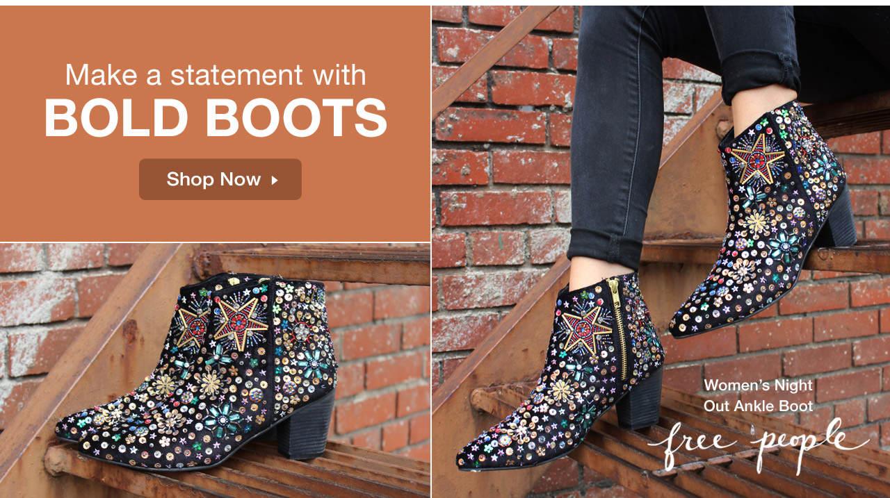 Shop Bold Boots