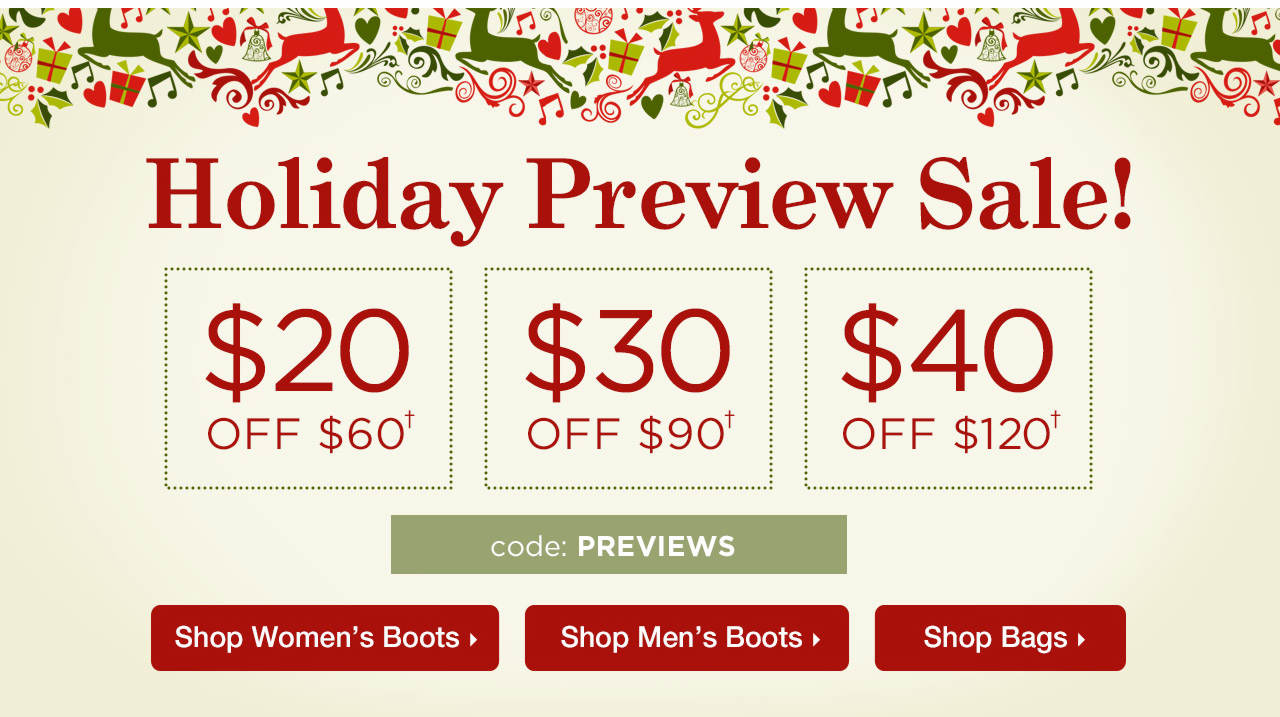 $20 Off $60, $30 Off $90, $40 Off $120 With Code: PREVIEWS