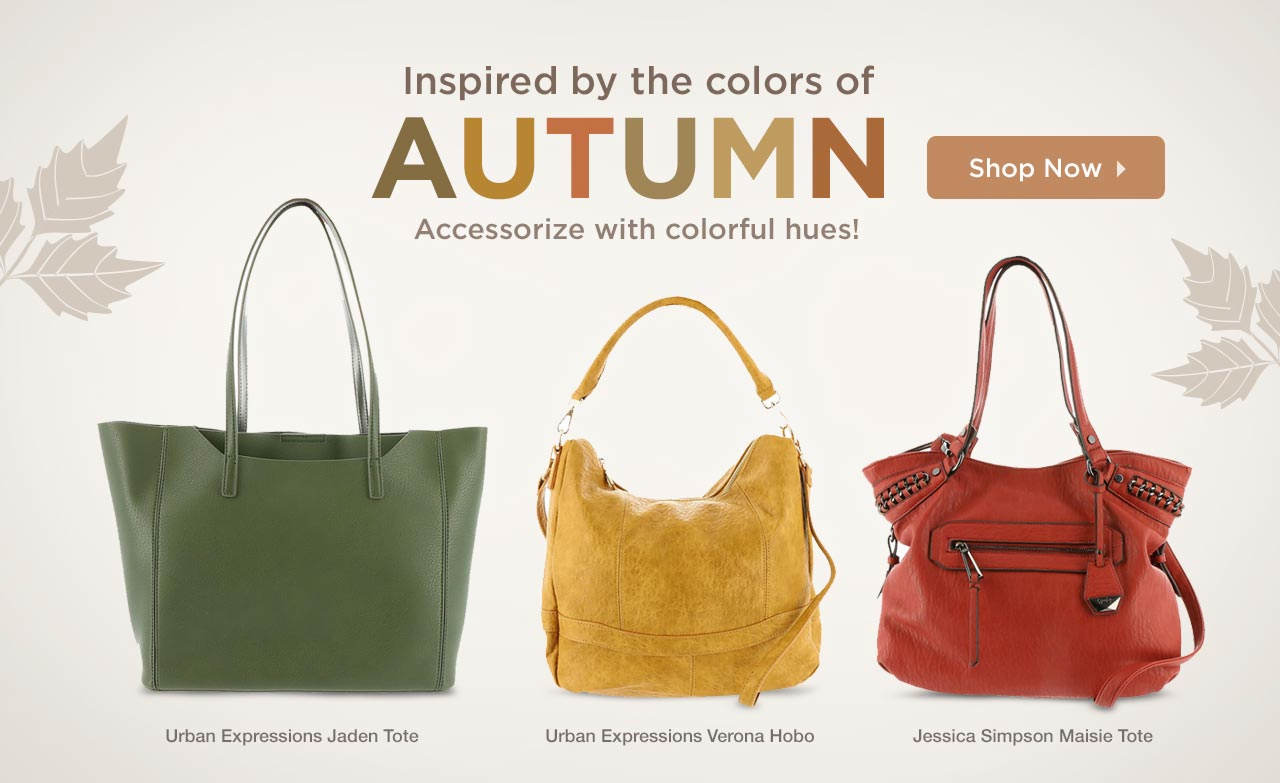 Shop Autumn-Inspired Bags
