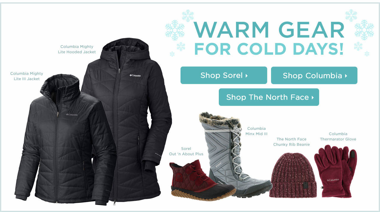 Warm Gear For Cold Weather
