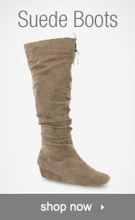 Shop Suede Boots