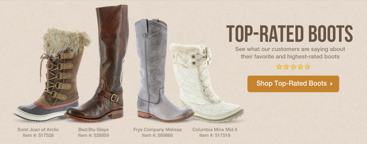 Shop Top-Rated Boots