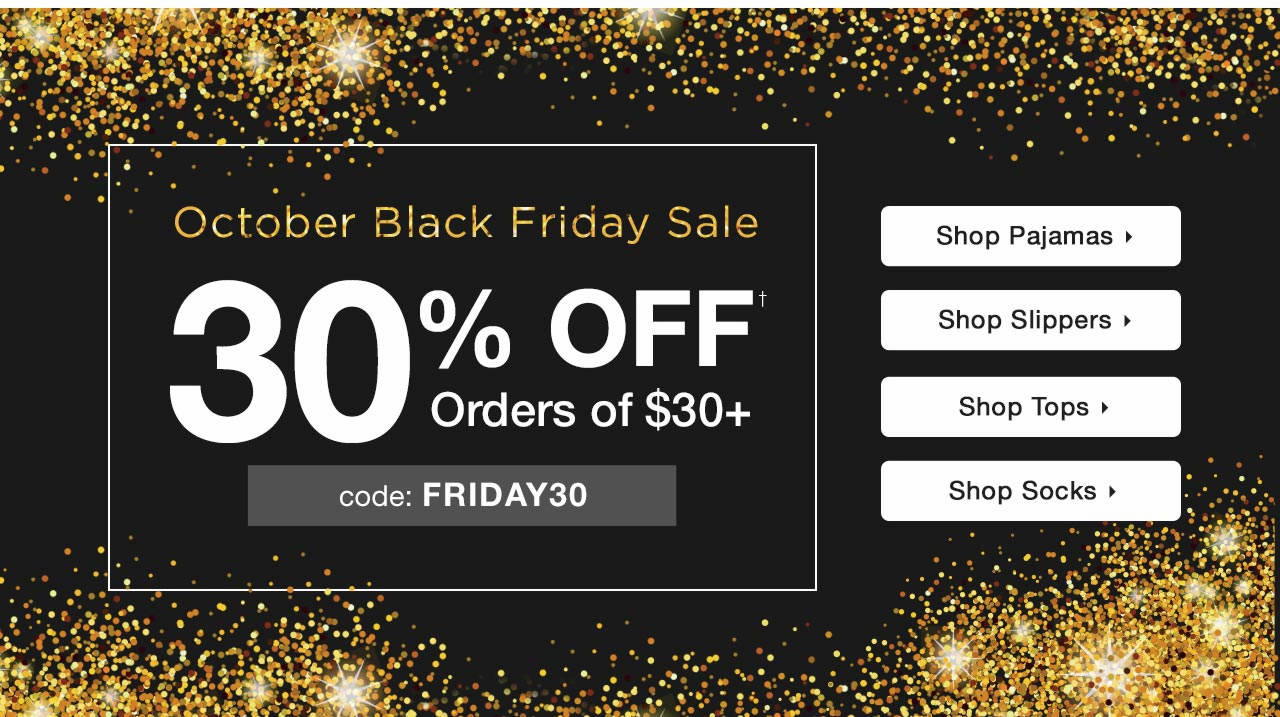 30% Off $30+ With Code: FRIDAY30