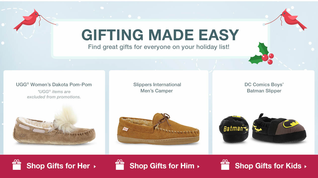 Shop Gifts for Women, Men and Kids