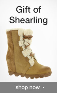 Shop Gift Of Shearling