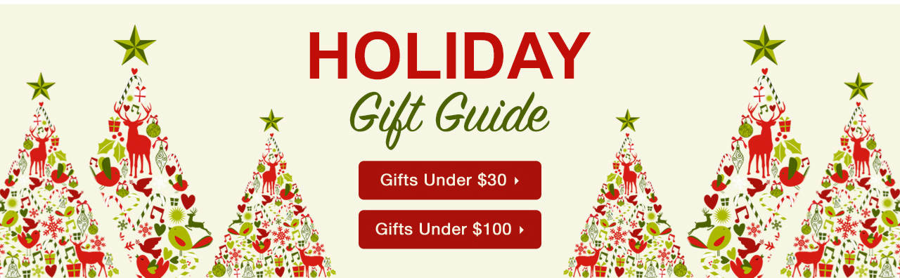 Shop Holiday Gifts