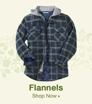 Shop Men's Flannels