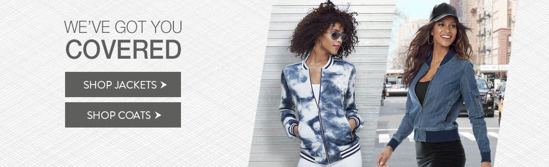 We've got you covered in jackets and coats from K. Jordan.