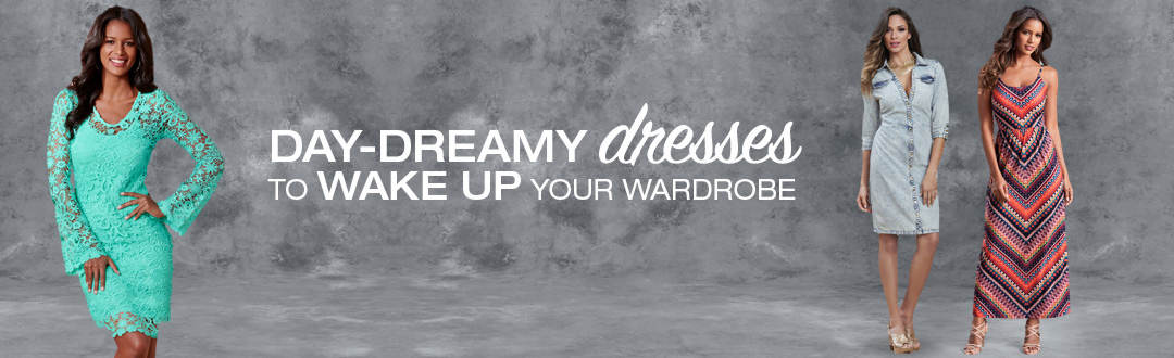 Day-dreamy dresses to wake up your spring wardrobe.