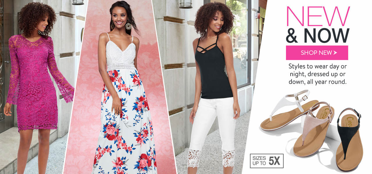 Shop new styles to wear day or night, dressed up or down, all year round.