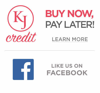 Buy Now, Pay Later with K.Jordan Credit and Like us on Facebook!
