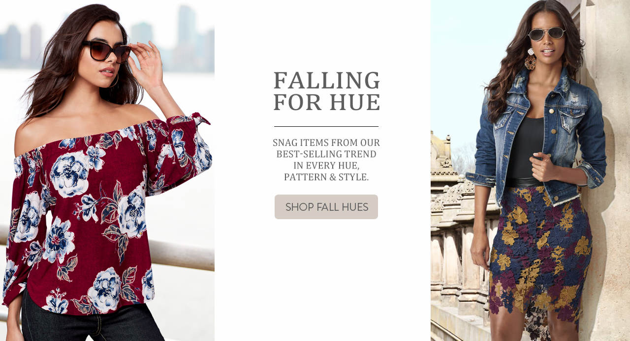 Snag items from our best-selling trend in every hue, pattern and style. Shop Fall Hues.