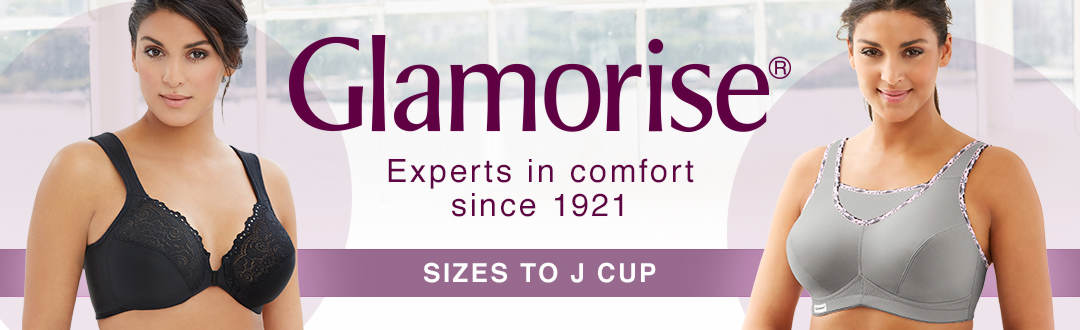 Experts in comfort since 1921. Shop Glamorise intimates at K. Jordan.