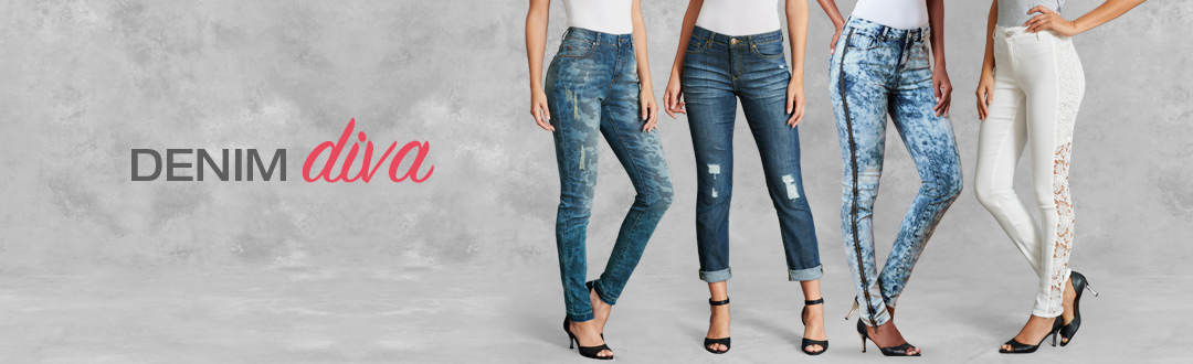 Shop denim diva style