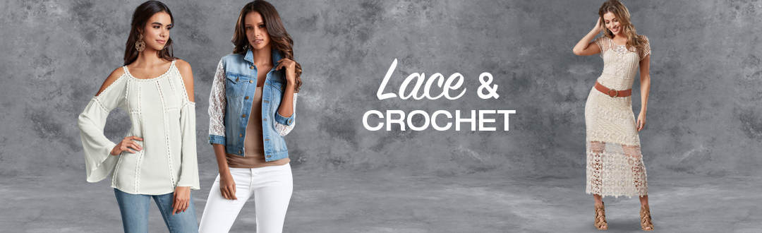 Shop Lace and Crochet