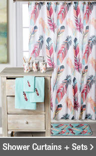 Shop Shower Curtains + Sets