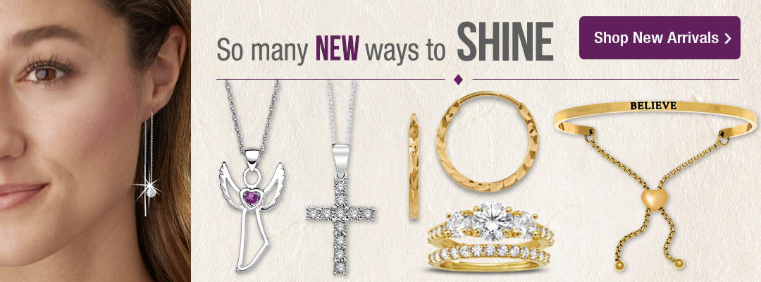 So many new ways to shine! Shop new jewelry arrivals now.