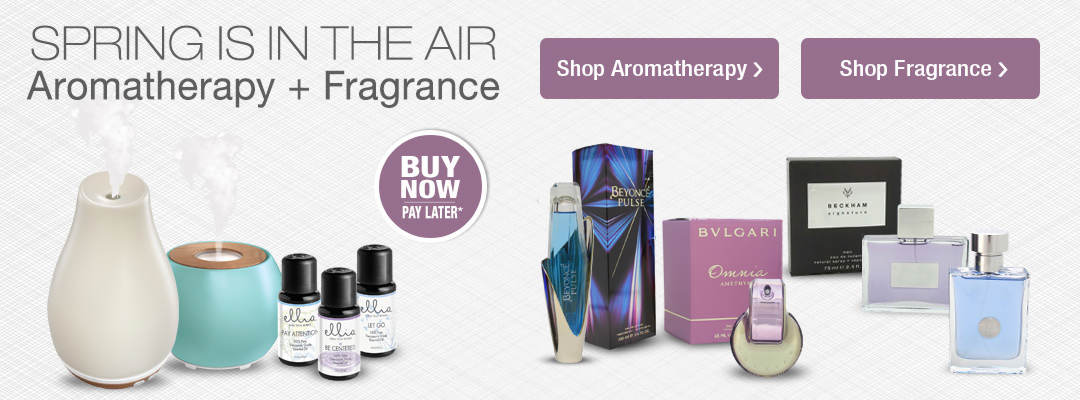 Spring is in the air. Shop aromatherapy and fragrances for men and women.