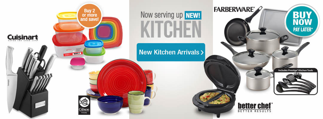 Serving up the latest and greatest! Shop new kitchen arrivals now.